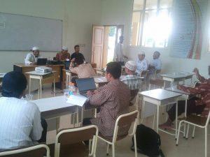 دورة في فن إدارة الجامعات للمدرسين في جامعة السنة