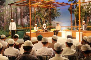 محاضرة الشيخ محمد الهبدان حفظه الله في قناة TVRI مع بعض الطلاب
