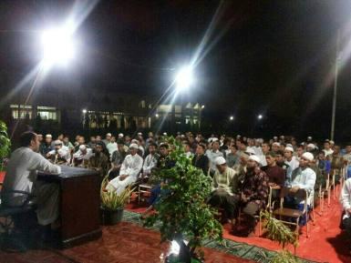 محاضرة الشيخ د. محمد بن عبدالله الدويش في جامعة السنة الإسلامية