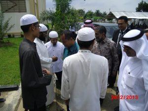 زيارة سفير خادم الحرمين الشريفين ومرافقيه – حفظهم الله –