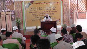 زيارة الشيخ محمد الهبدان إلى جامعة السنة الإسلامية و مؤسسة الرسالة الخيرية